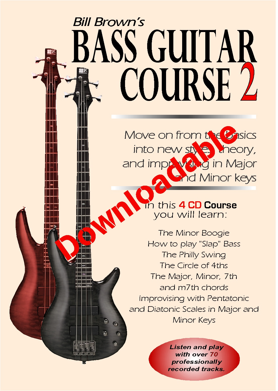 Bass Guitar Course 2 (Downloadable)