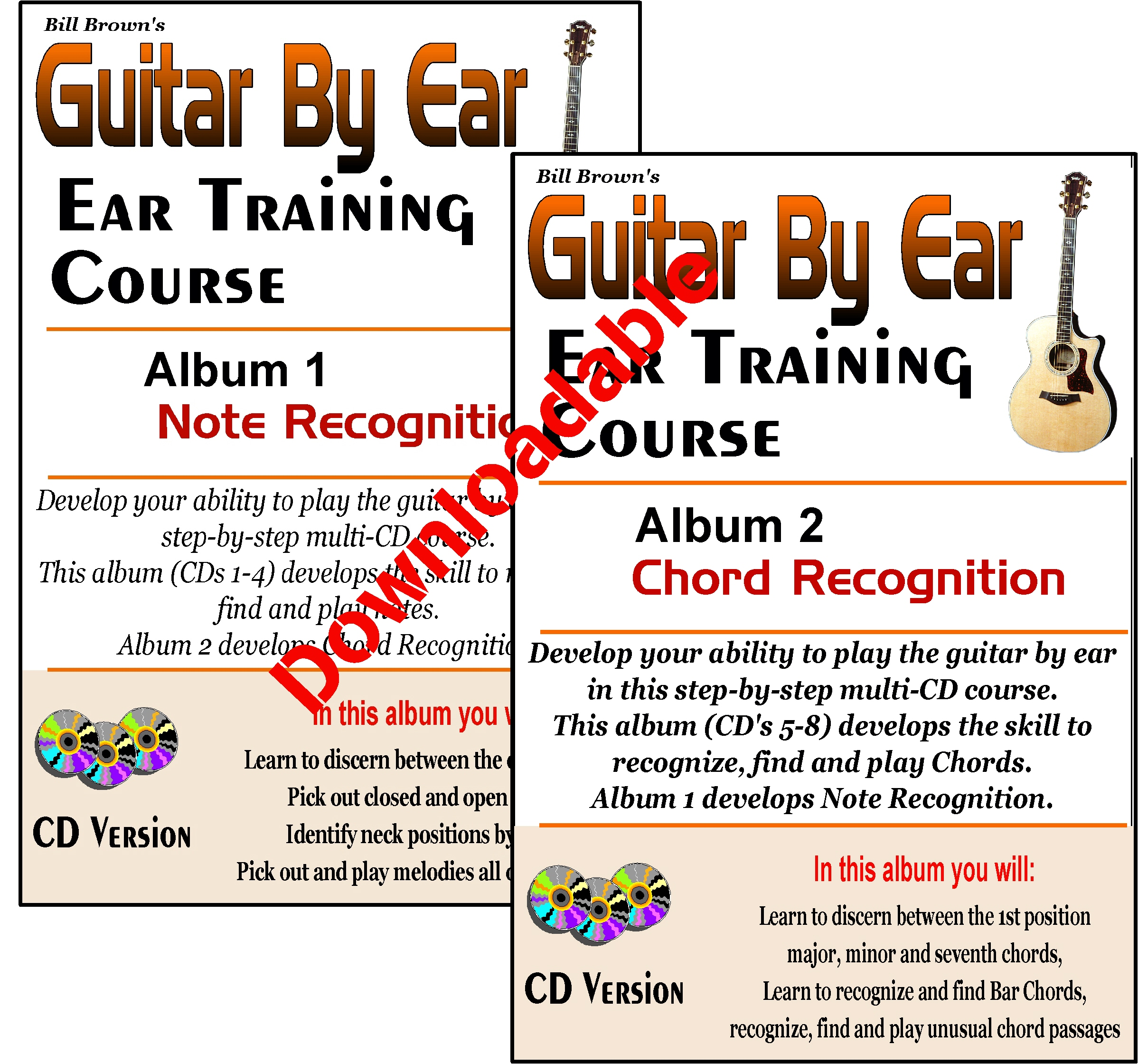 Ear Training Course (Guitar) (Downloadable)