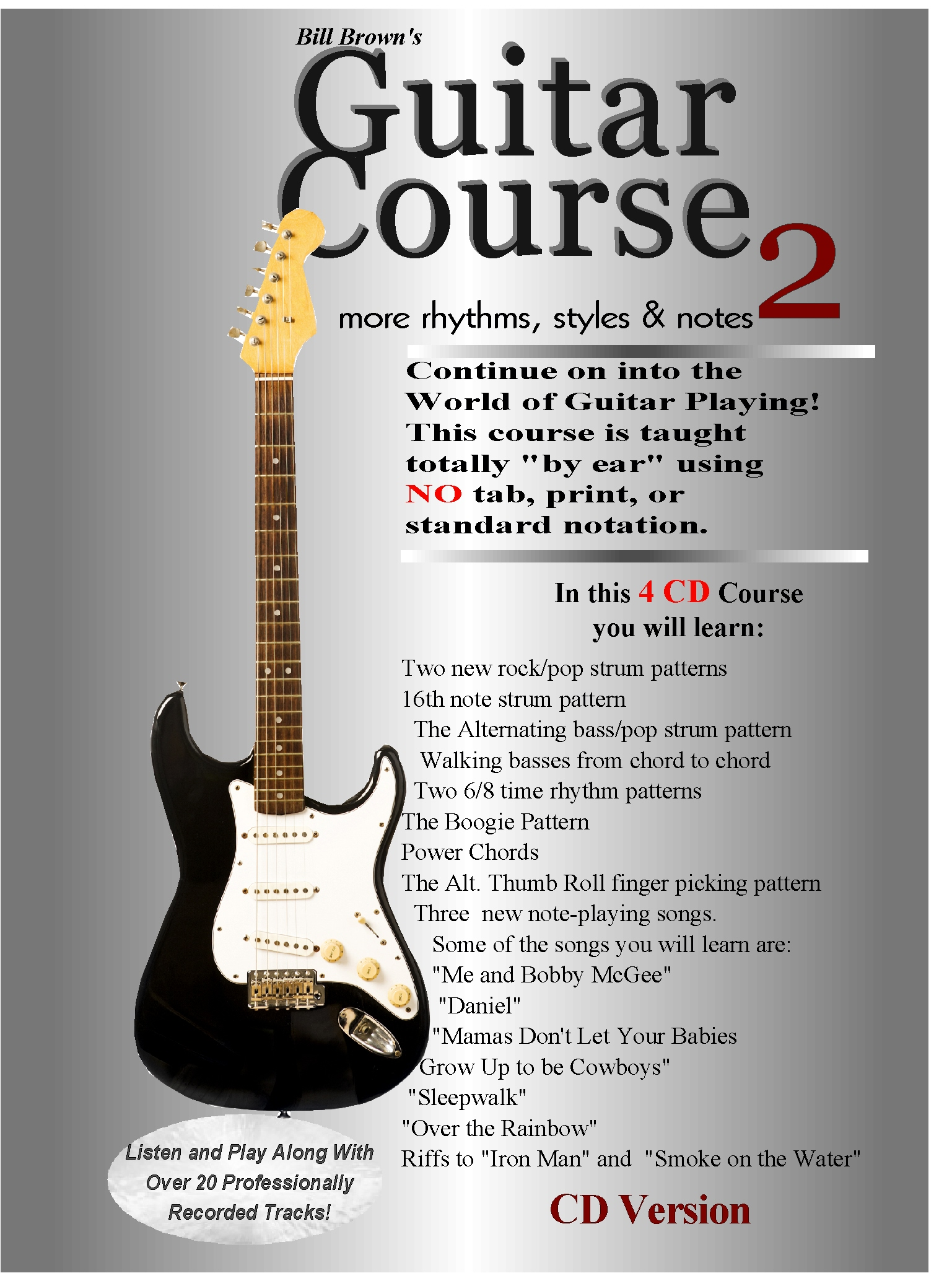 Guitar Course 2 (CD/Tape)