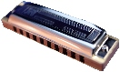 Hohner Blues Harmonica in C