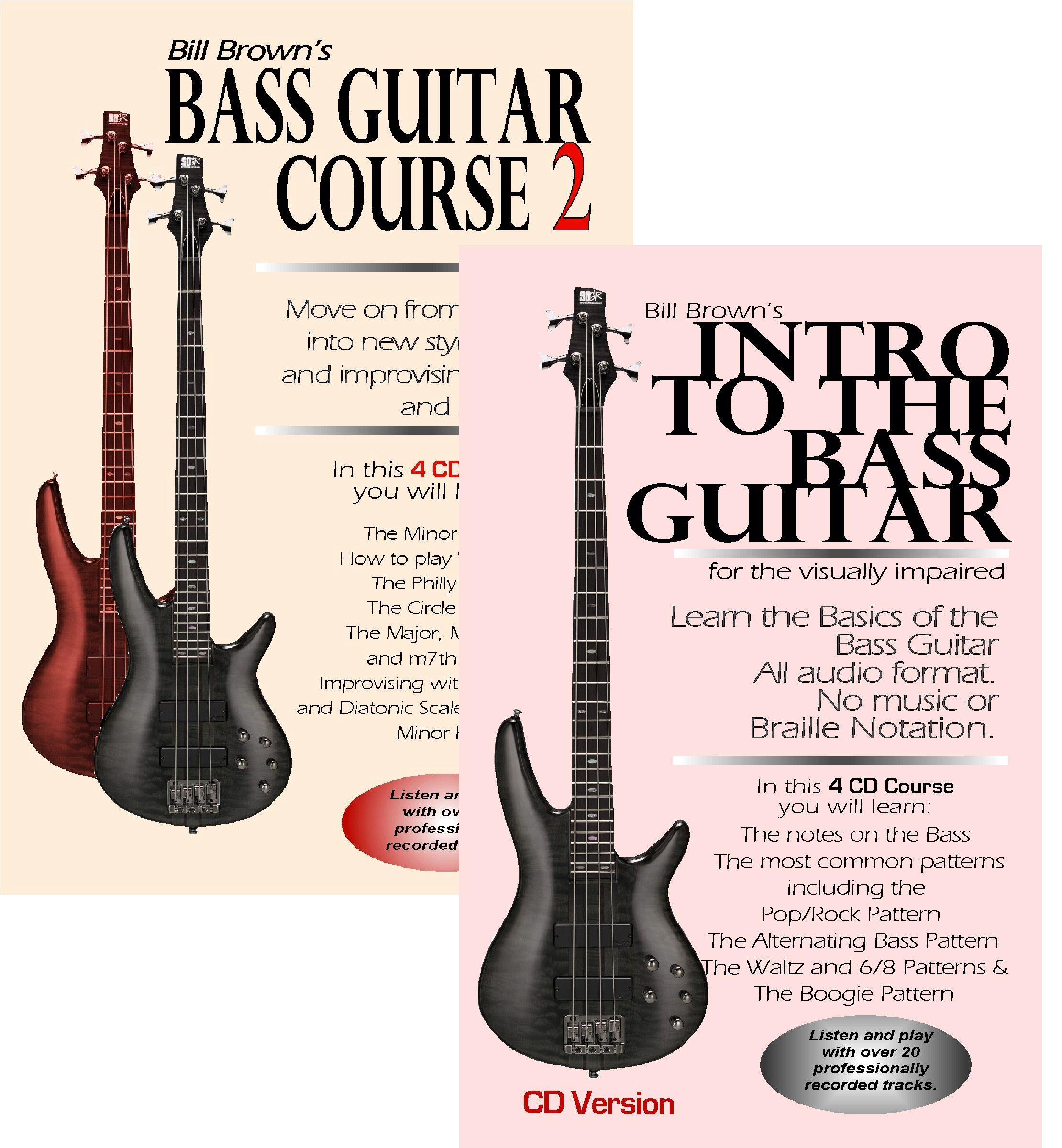 Intro to the Bass Guitar for the Visually Impaired and Bass Course 2