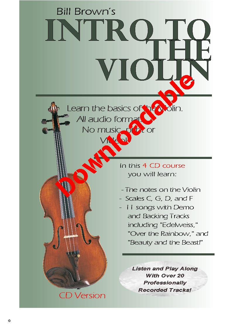 Intro to the Violin (Downloadable)