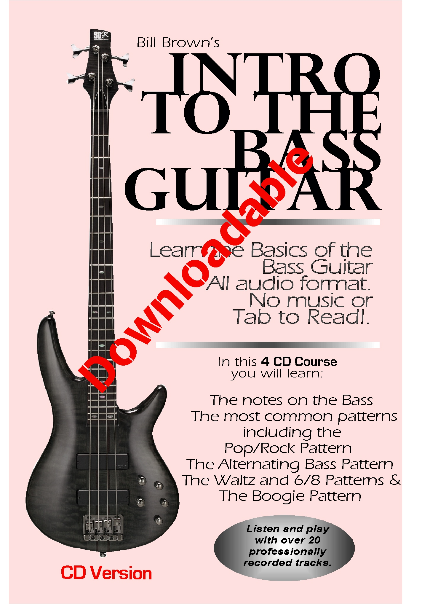 Intro to the Bass Guitar (Downloadable)