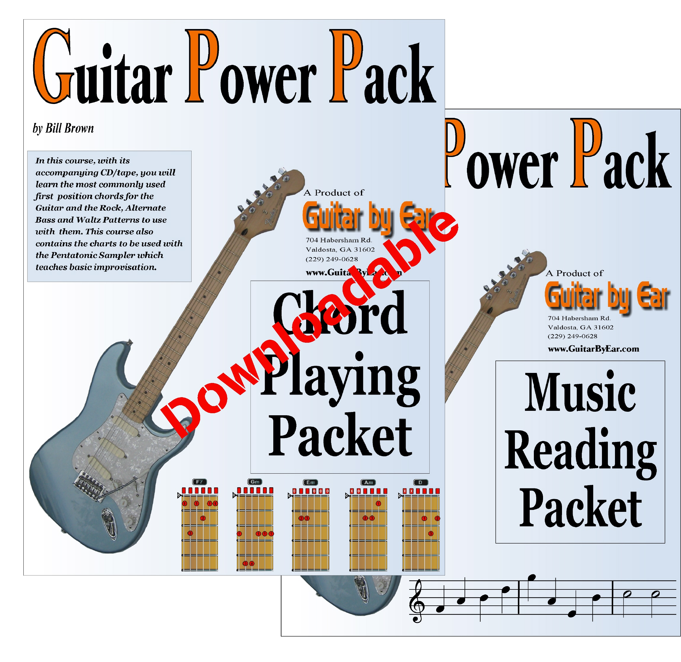Beginning Guitar Power Pack (Downloadable)