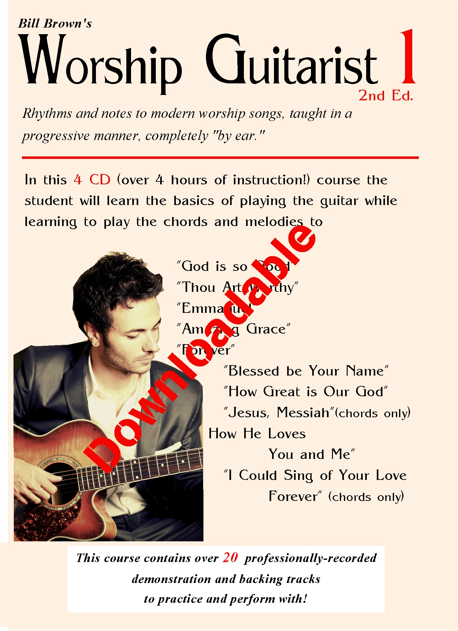 Worship Guitarist 1 2nd Edition (Downloadable)