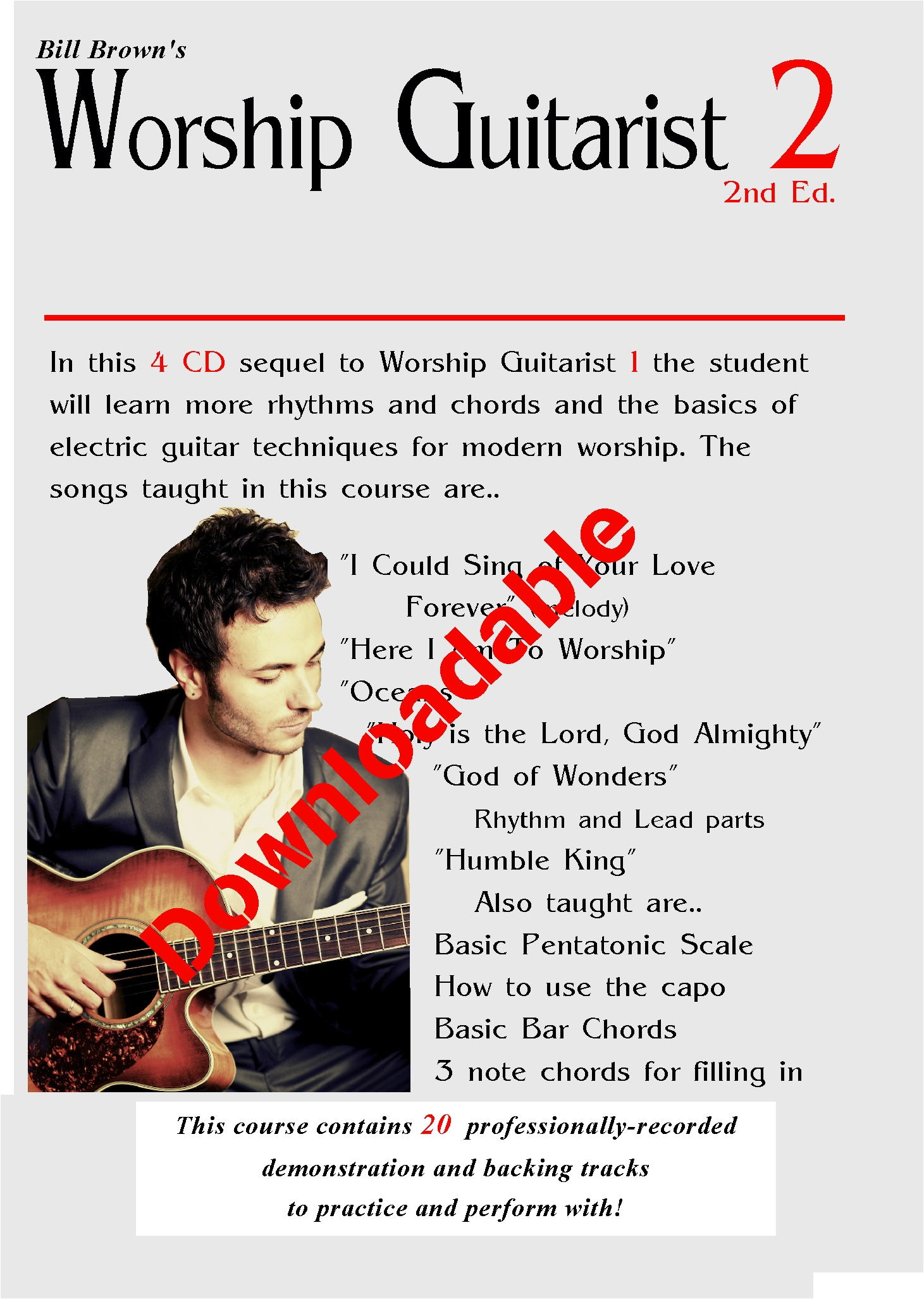 Worship Guitarist 2 2nd Edition (Downloadable)
