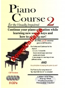 Piano Course 2 for the Visually Impaired (Downloadable)